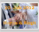 Hochzeitsbanner selbst gestalten und drucken