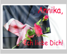 Fahnen selbst bedrucken als Geschenk zum Valentinstag - nur bei FAHNENstyling24.de