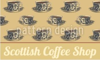 Werbefahnen für den Coffee Shop selbst gestalten mit Templates von FAHNENstyling24.de