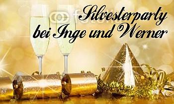 Silvester Party Flagge selber gestalten mit Vorlagen bei FAHNENstyling24.de