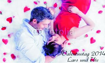 Fahnen selber gestalten zum Valentinstag mit vielen Gestaltungsvorlagen bei FAHNENstyling24.de