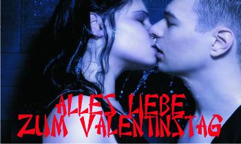 Fahnen selber drucken zum Valentinstag mit vielen Gestaltungsvorlagen bei FAHNENstyling24.de