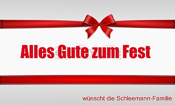 Einladung zum Weihnachstsfest als Fahne selber gestalten - mit Vorlagen bei FAHNENstyling.de