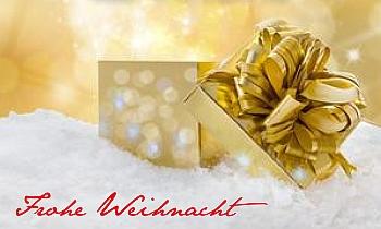 Weihnachtsgrüße als Fahne selber gestalten - mit Vorlagen bei FAHNENstyling24.de